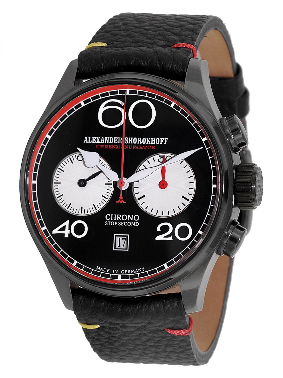 Alexander Shorokhoff AS.C02-4R Herren-Chronograph Avantgarde