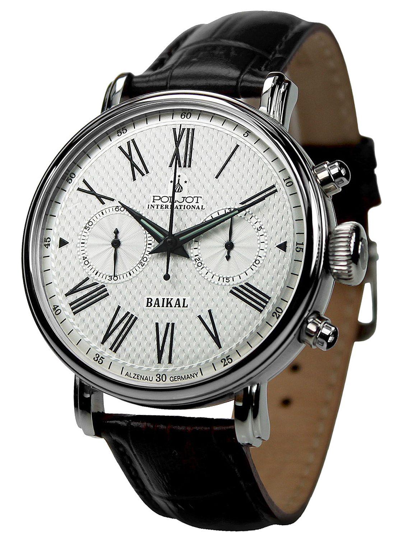 Poljot International 2901.1940911 Herren-Handaufzugsuhr Chronograph Baikal
