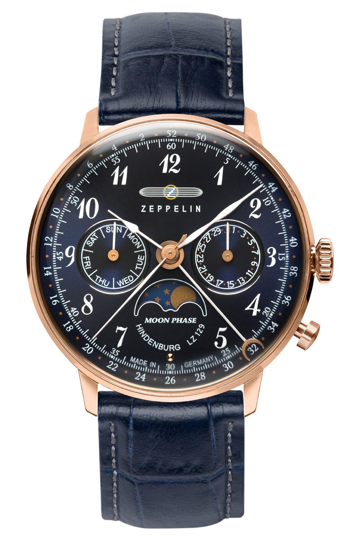 bei Uhrcenter: Zeppelin 7039-3 Damenuhr mit Mondphase - Damenuhr