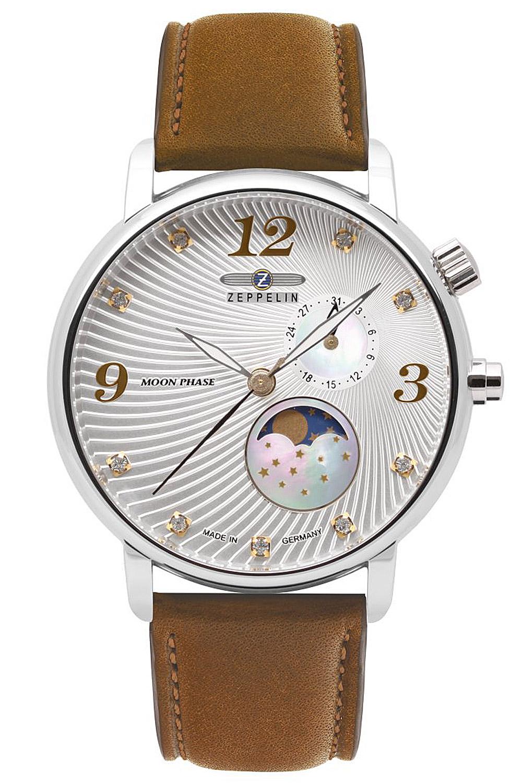 bei Uhrcenter: Zeppelin 7637-1 Luna Damenuhr mit Mondphase - Damenuhr
