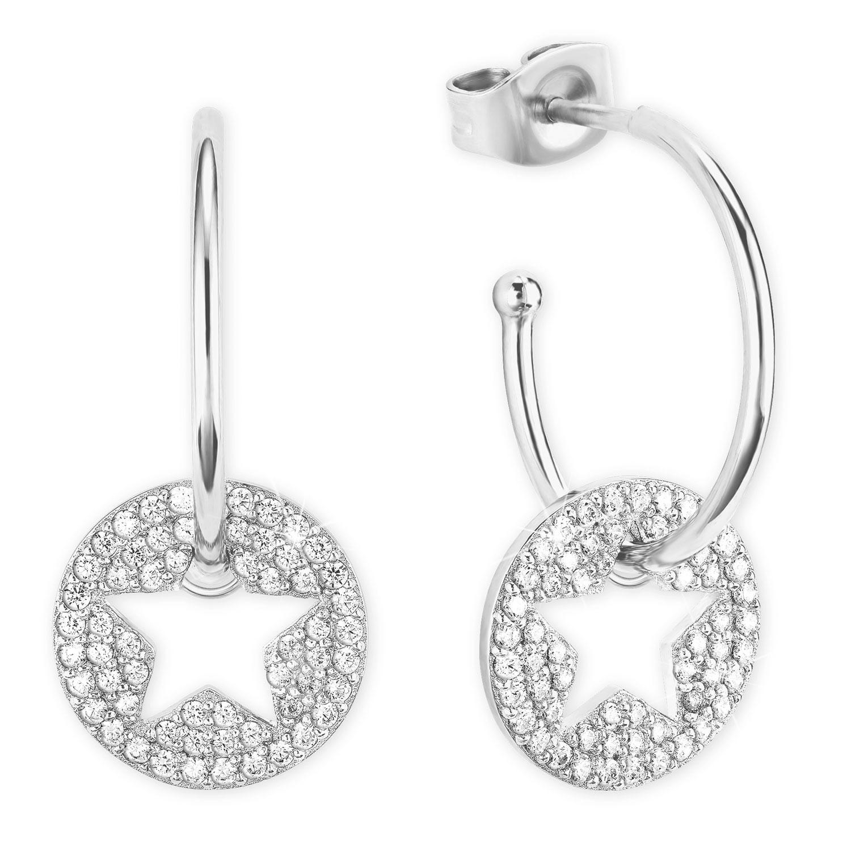 bei Uhrcenter: s.Oliver 2026090 Silber-Ohrringe mit Stern - Schmuck