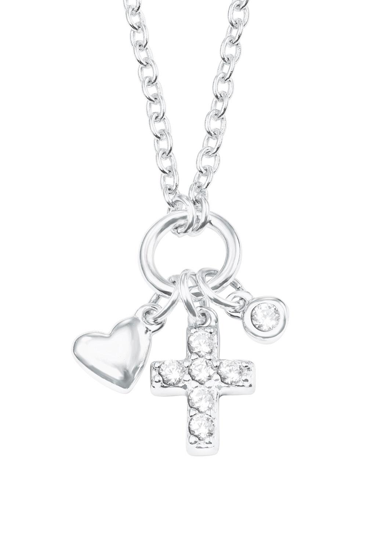 bei Uhrcenter: s.Oliver 2022703 Silber Mädchen-Halskette - Schmuck