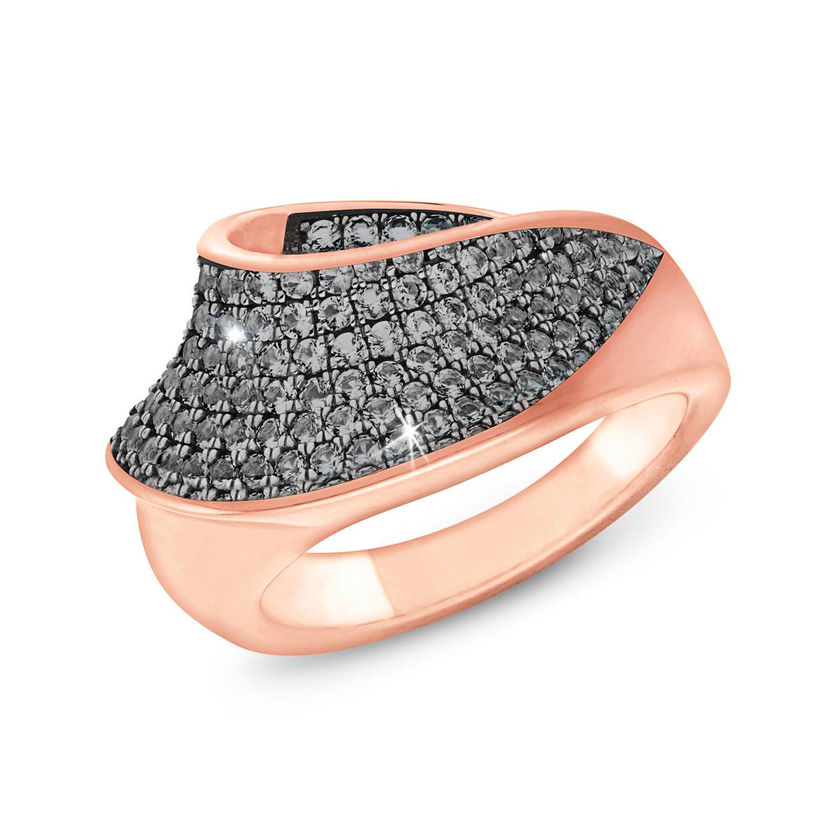 bei Uhrcenter: Joop 202350 Silber Damenring Rosé - Schmuck