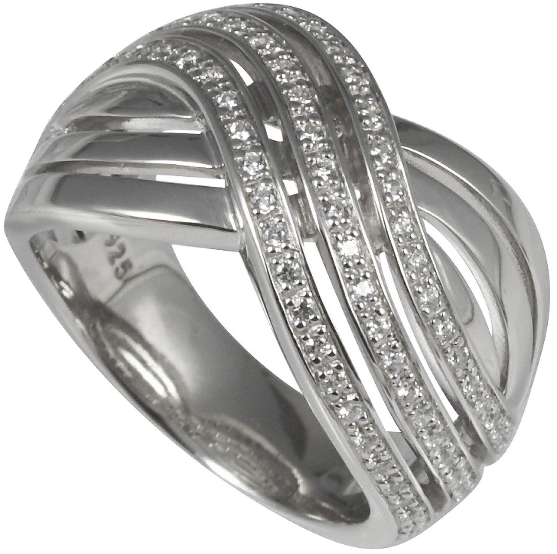 bei Uhrcenter: merii M0541R Silber Damenring - Schmuck