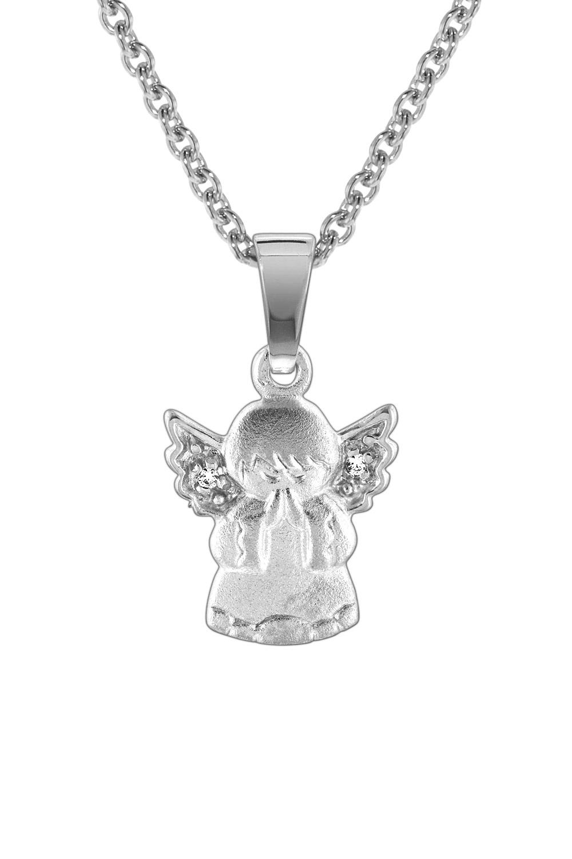 trendor 78599 Silberkette mit Engel für Kinder