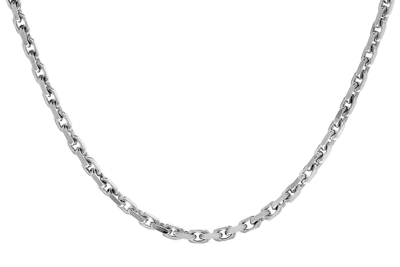 trendor 70777 Silberkette rhodiniert, Anker-Muster