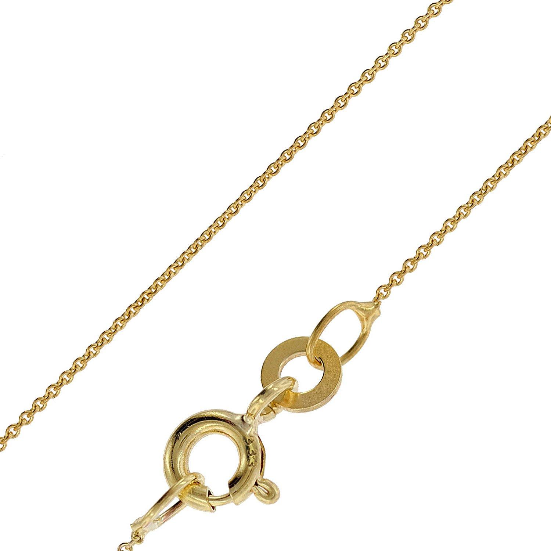 bei Uhrcenter: trendor 72405 Halskette für Anhänger 333 Gold Rundanker 0,8 mm breit - Schmuck