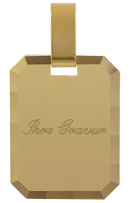 trendor 35776 Gravurplatte Gold