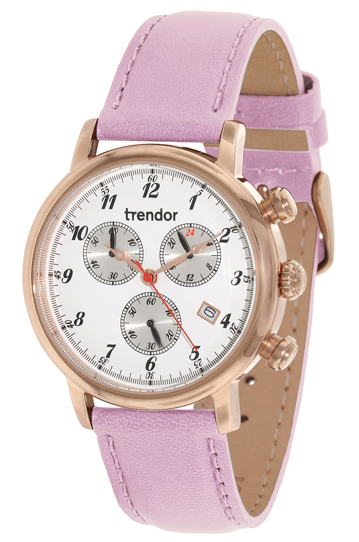 bei Uhrcenter: trendor 7591-05 Doreen Chronograph Damenuhr - Damenuhr