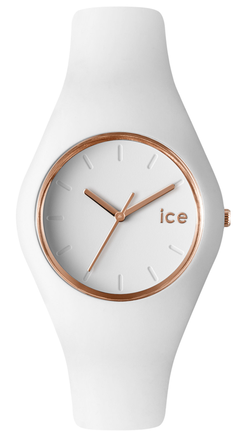 bei Uhrcenter: Ice-Watch 000977 Glam White Rose-Gold Damenuhr - Damenuhr