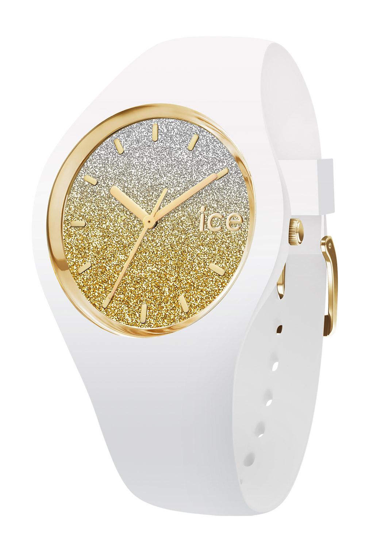 Ice-Watch 013428 Damenuhr Ice Lo Weiß/Gold S
