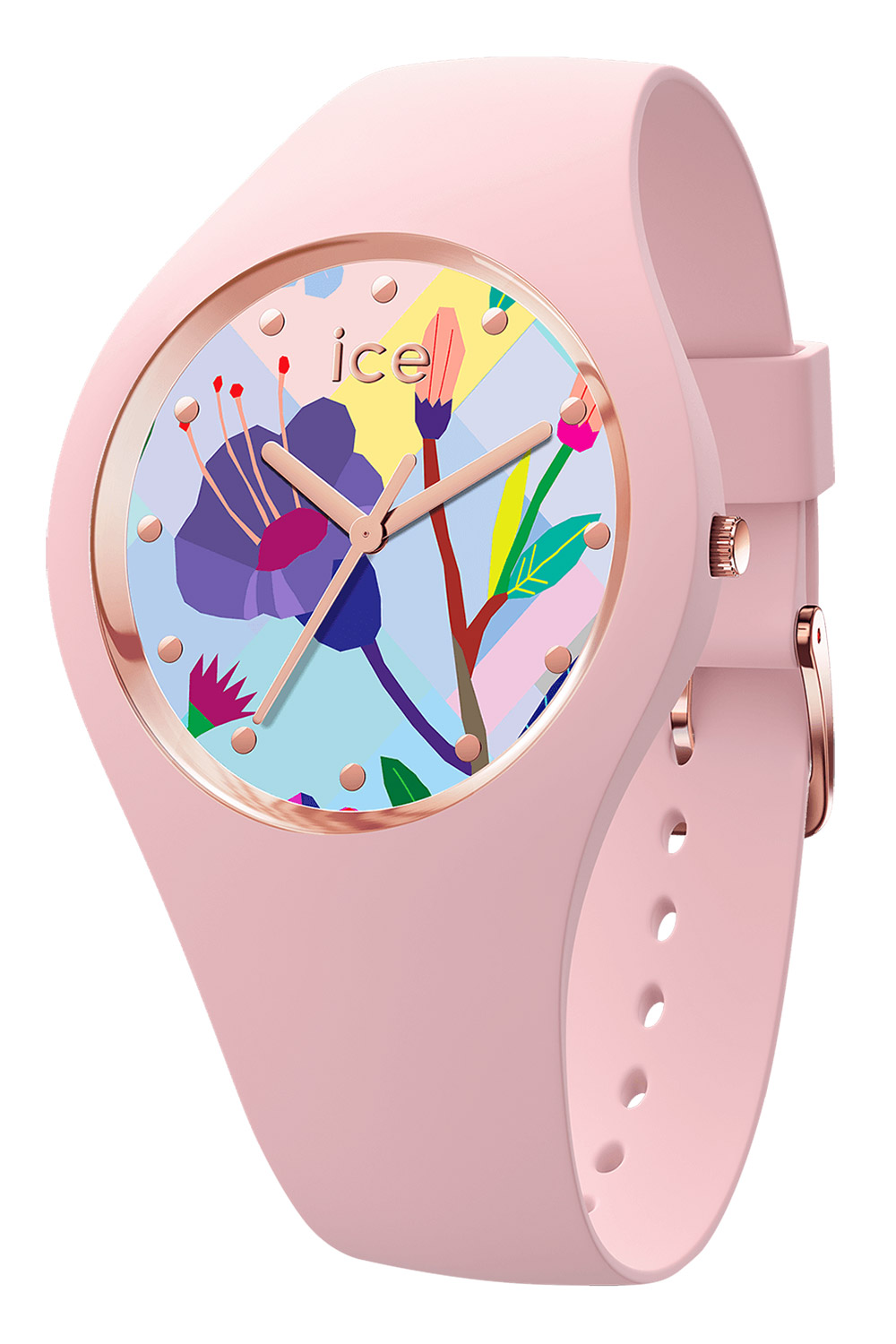 bei Uhrcenter: Ice-Watch 016654 Damenuhr Pink Garden S - Damenuhr