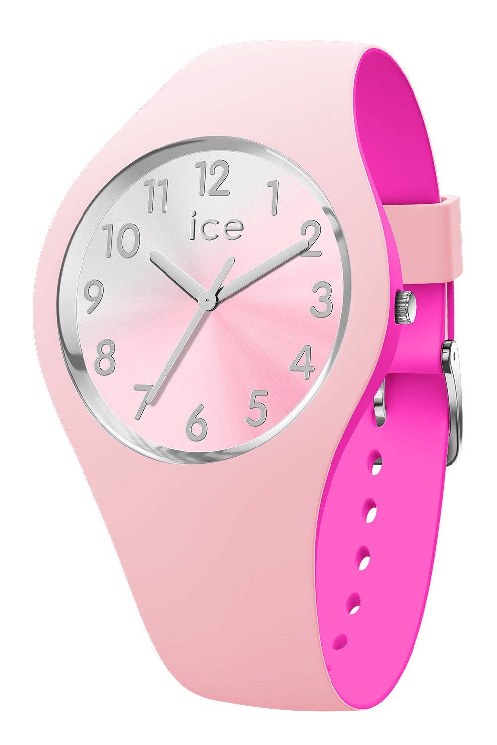 bei Uhrcenter: Ice-Watch 016979 Damenuhr Duo Chic Pink/Silber S - Damenuhr
