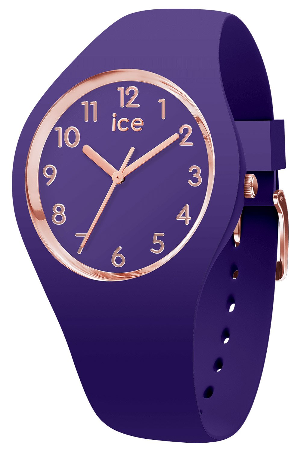 bei Uhrcenter: Ice-Watch 015696 Damenuhr Ice Glam Colour Ultra Violet M - Damenuhr