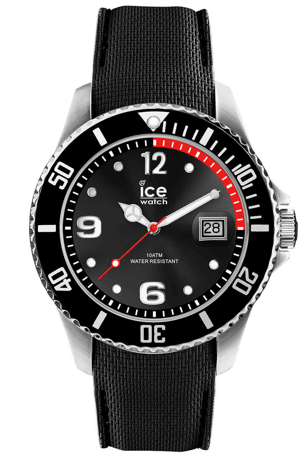 Ice-Watch 015773 Herren-Armbanduhr Ice Steel Bl...