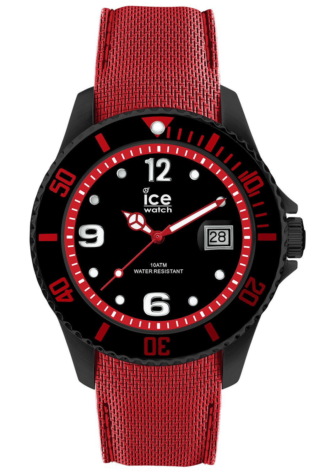 Ice-Watch 015782 Herrenarmbanduhr Ice Steel Bla...