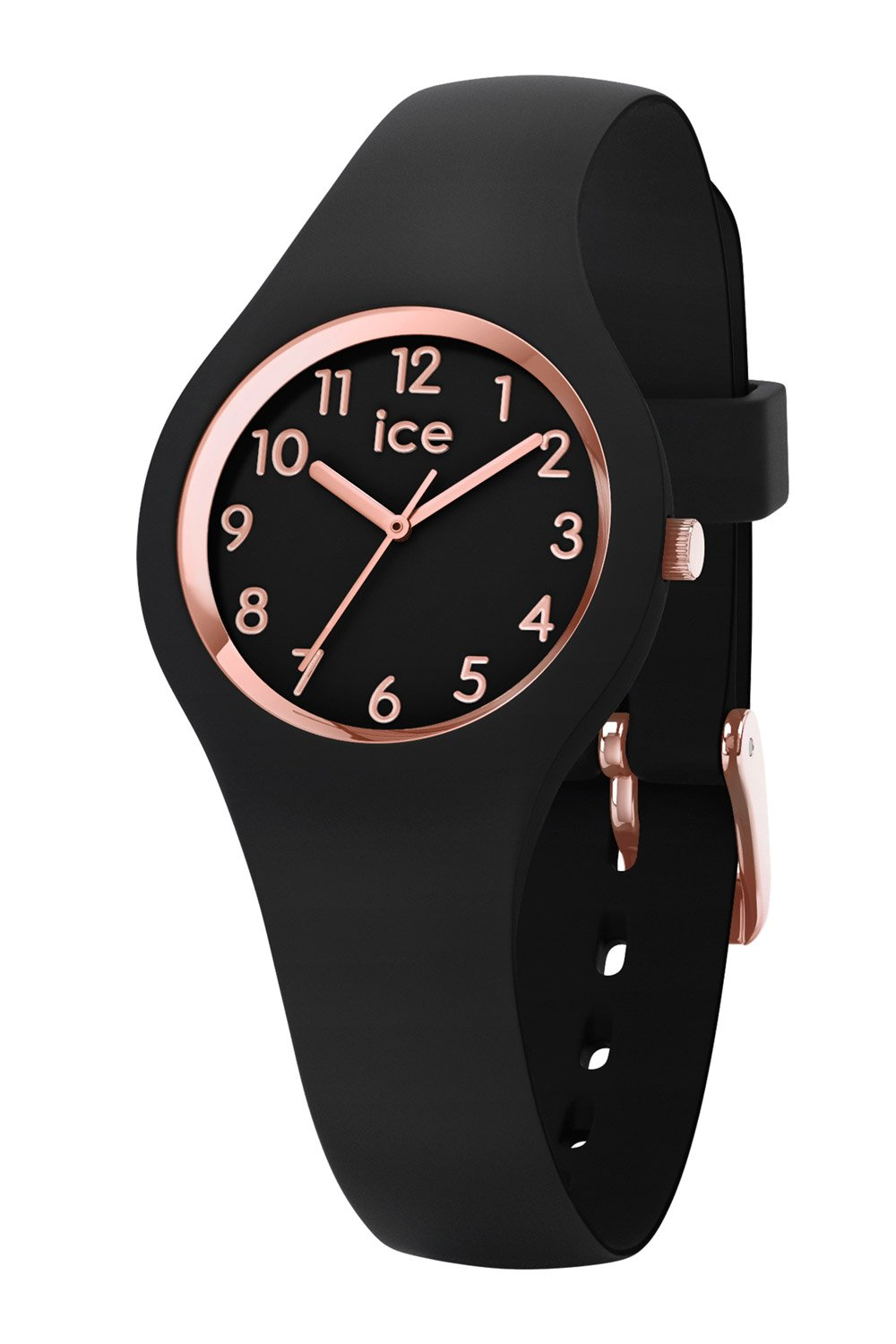 bei Uhrcenter: Ice-Watch 015344 Damenuhr Ice Glam Schwarz/Roségold XS - Damenuhr