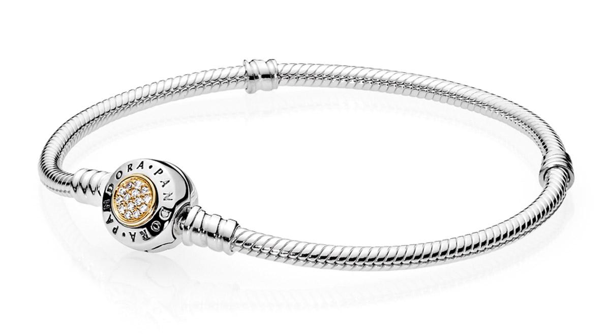 Pandora 590741CZ Damen-Armband Pandora Logo