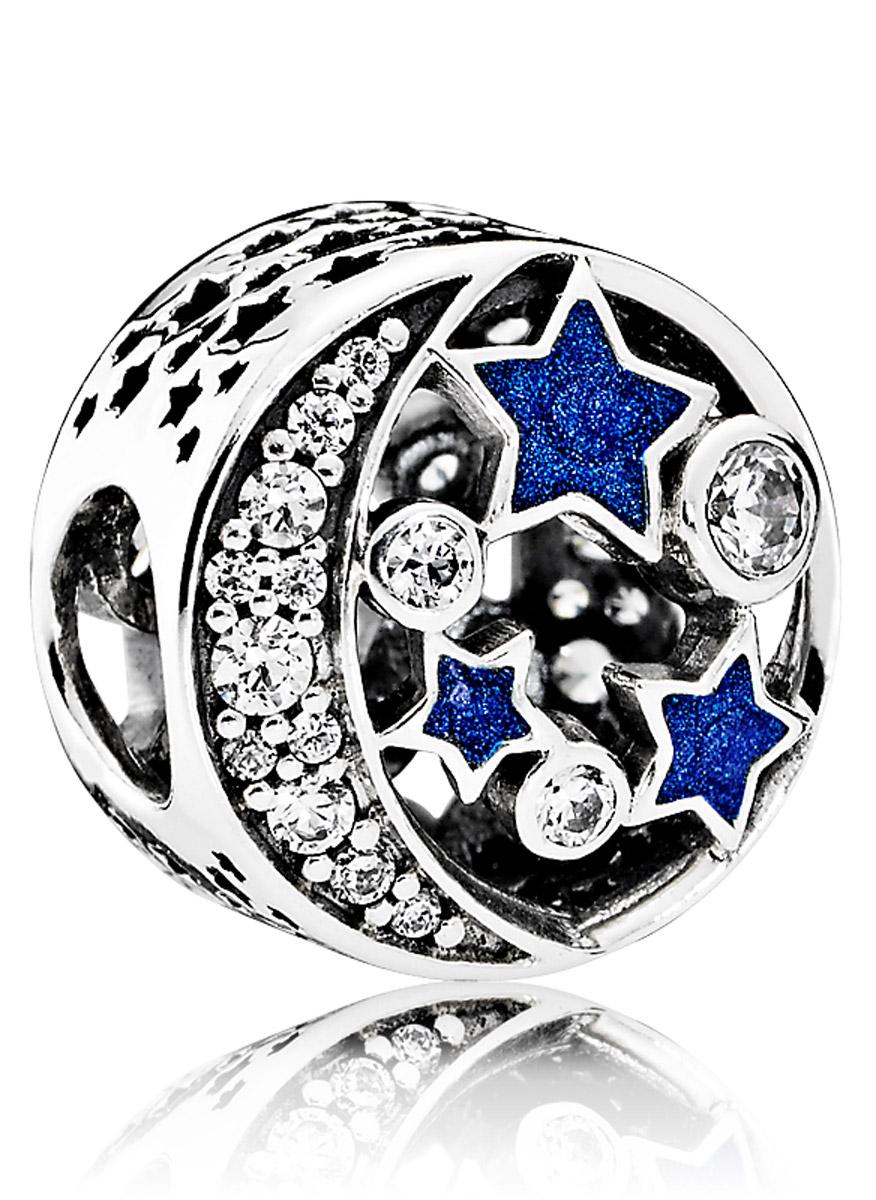 Image of Damen Element mit blauem Emaille 791992CZ by Pandora
