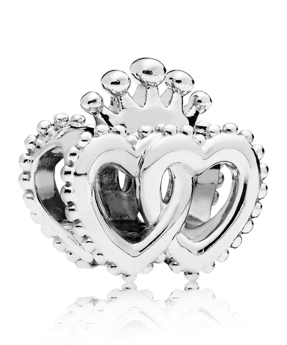 Pandora 797670 Charm United Regal Heart