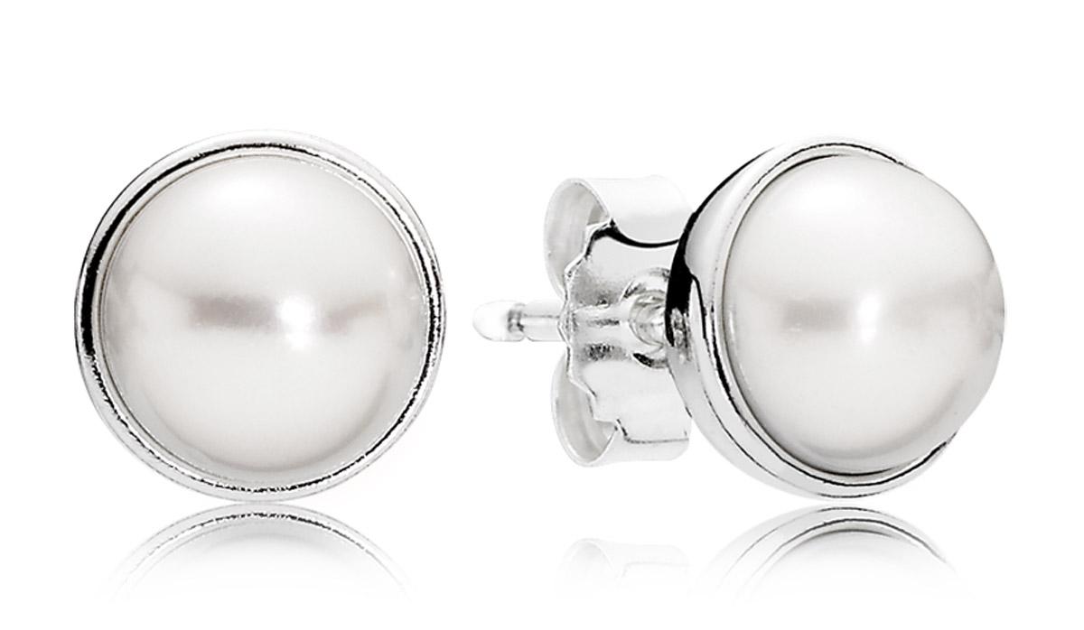 Pandora 290727P Damen-Ohrringe Zeitlose Schönheit