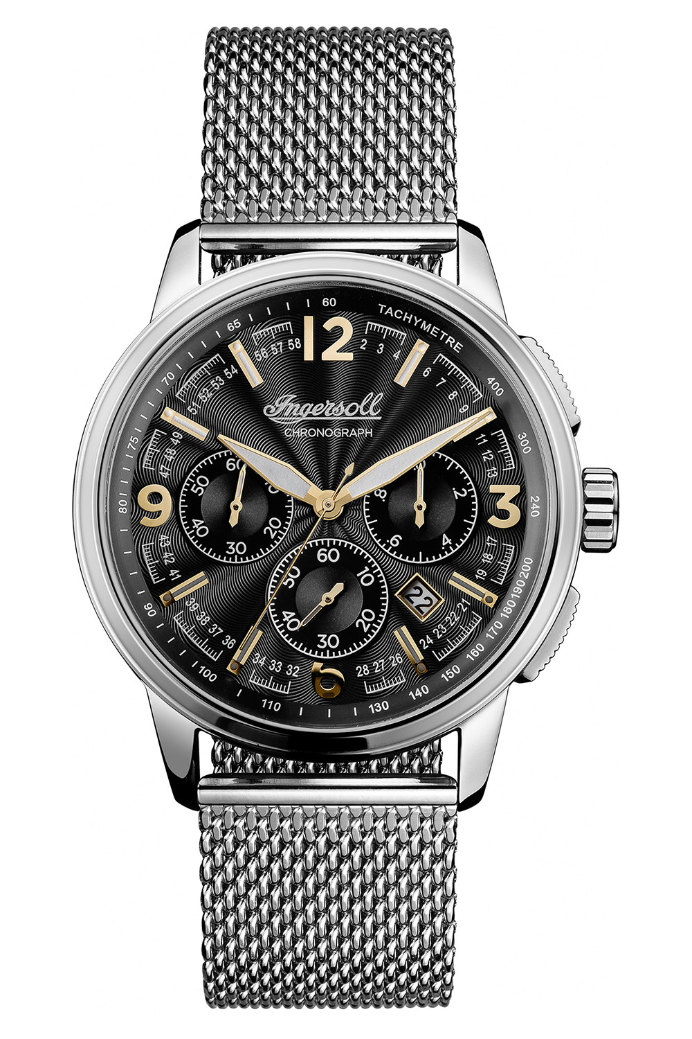 Ingersoll I00103 Herrenuhr Chronograph The Regent