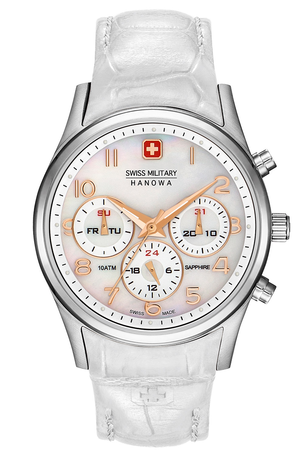 bei Uhrcenter: Swiss Military Hanowa 06-6278.04.001.01 Damenuhr Navalus Multifunction Lady - Damenuhr