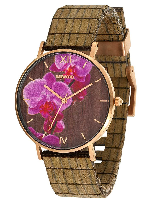 bei Uhrcenter: WeWood WW48001 Damenuhr Aurora Flower Nut - Damenuhr