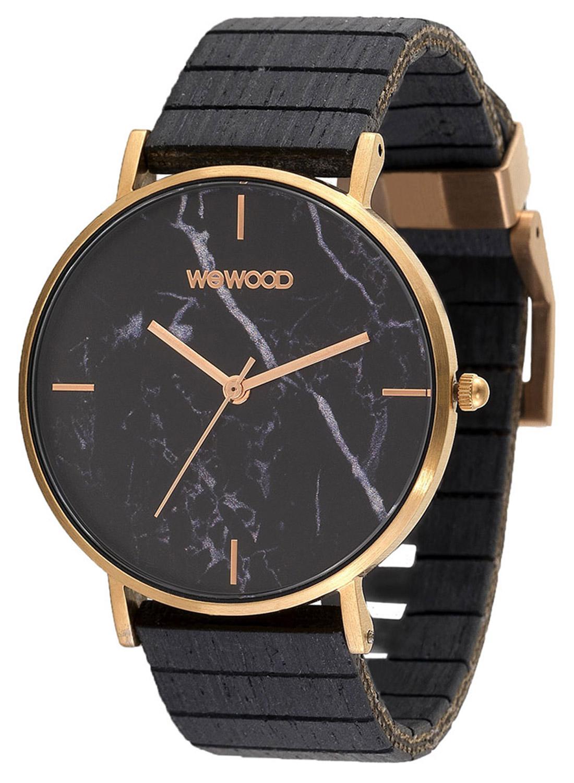 bei Uhrcenter: WeWood WW48004 Damenuhr Aurora Marble Black - Damenuhr