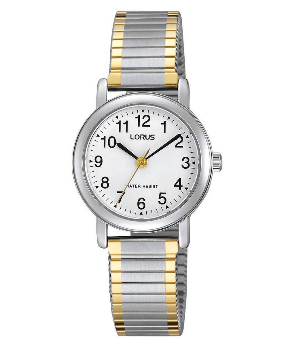 bei Uhrcenter: Lorus RRS79VX9 Damenuhr mit elastischem Zugband - Damenuhr