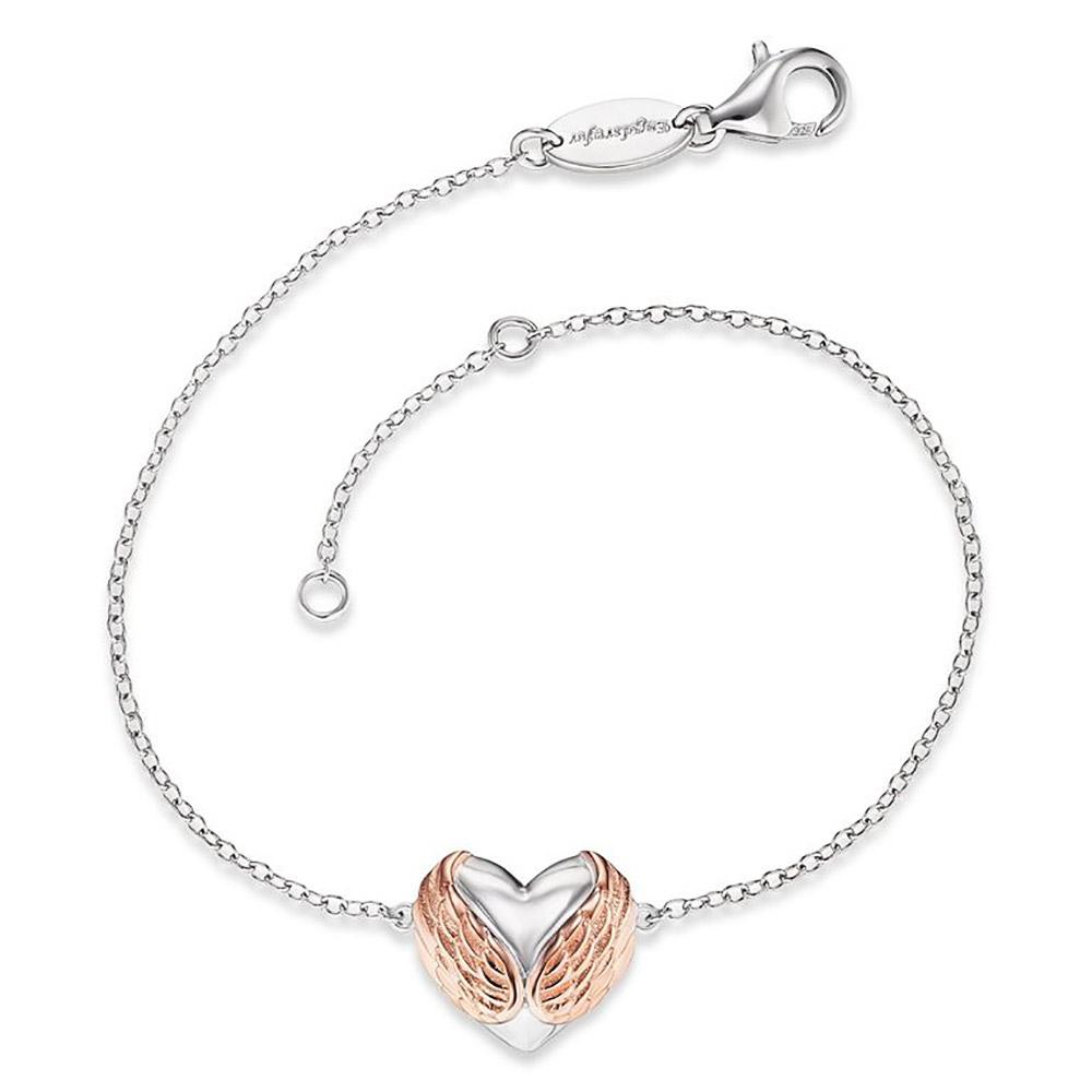 bei Uhrcenter: Engelsrufer ERB-WITHLOVE-01 Damen-Armband mit Herz-Anhänger - Schmuck