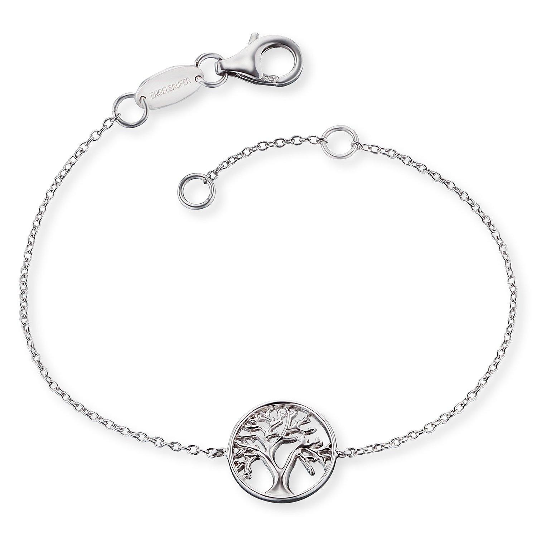 bei Uhrcenter: Engelsrufer ERB-LILTREE Silber Damen-Armband Lebensbaum - Schmuck