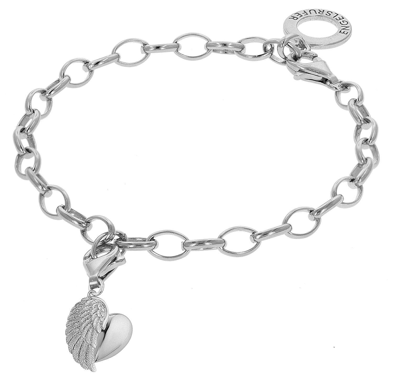 bei Uhrcenter: Engelsrufer 78155 Silber-Armband mit Flügelherz - Schmuck