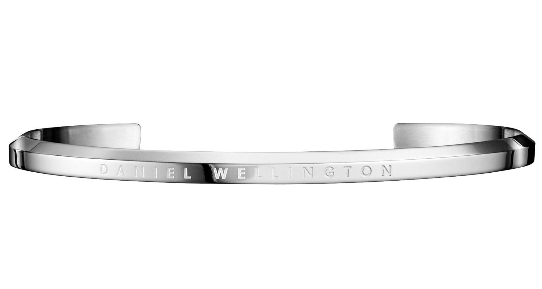 Daniel Wellington DW00400002 Armreif Classic Cuff Large Silver