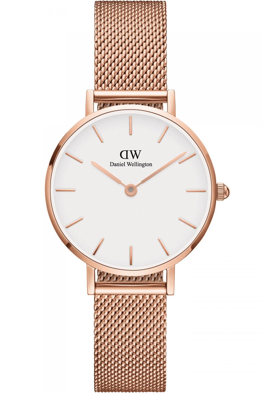 bei Uhrcenter: Daniel Wellington DW00100219 Damenuhr Classic Petite Melrose Rosé/Weiß 28 - Damenuhr