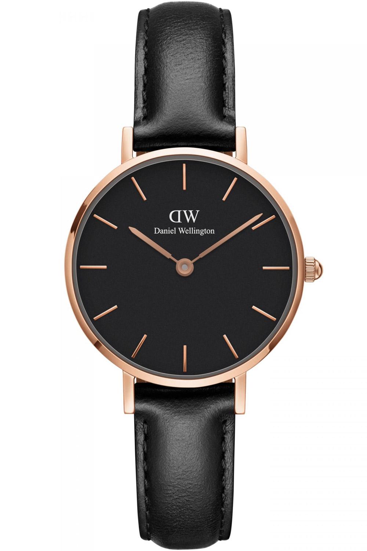bei Uhrcenter: Daniel Wellington DW00100224 Damenuhr Classic Petite Sheffield Schwarz 28 - Damenuhr