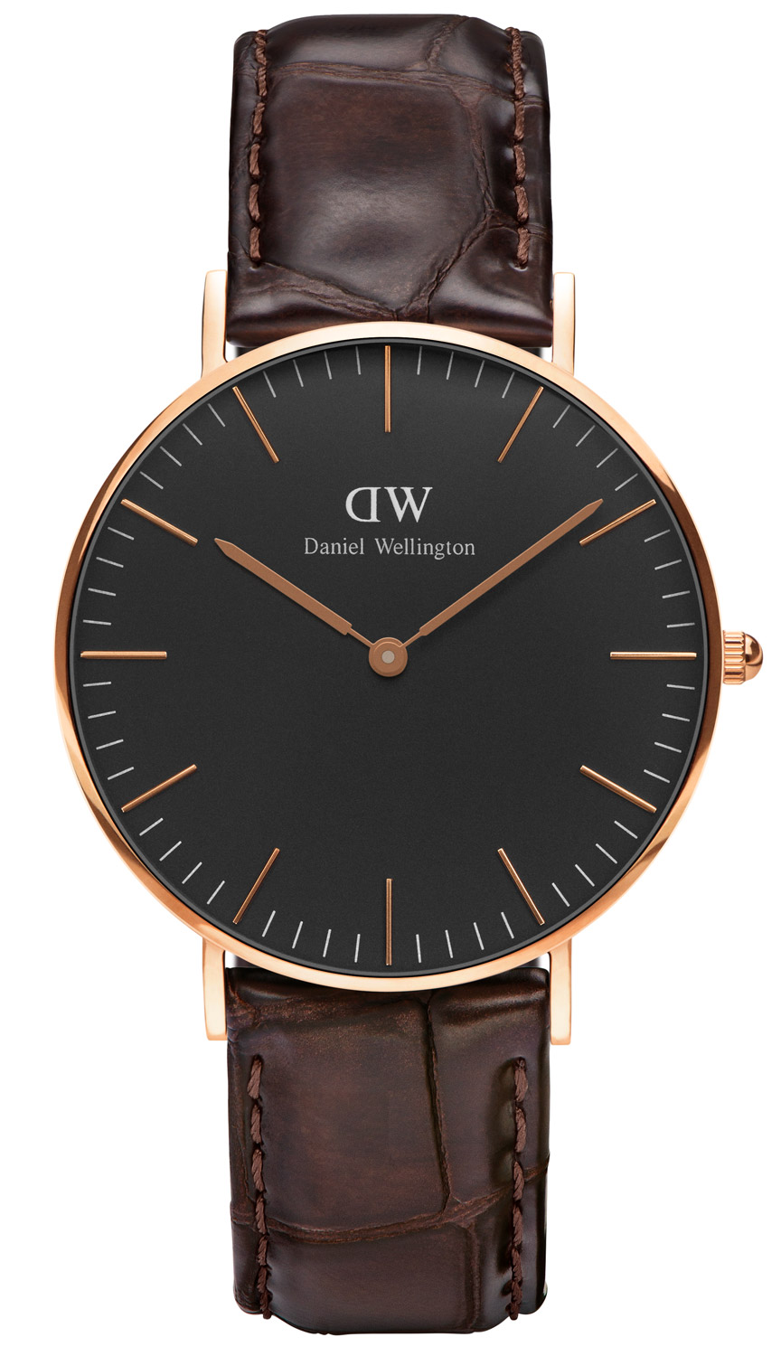 Daniel Wellington DW00100140 Damenuhr York Rose...