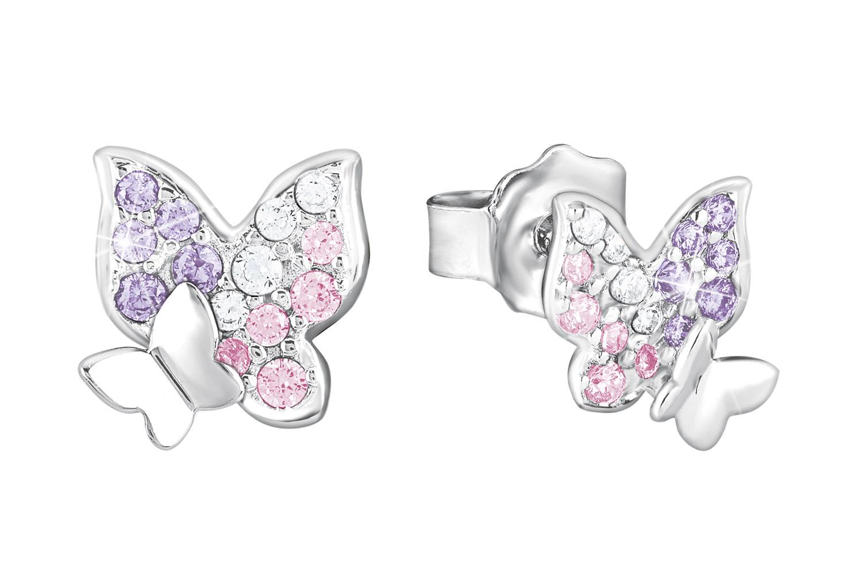 bei Uhrcenter: Prinzessin Lillifee 2021063 Ohrringe für Mädchen Schmetterling - Schmuck