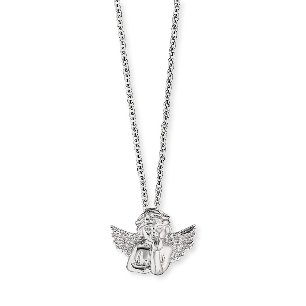 bei Uhrcenter: Herzengel HEN-ANGELO Silber-Halskette für Kinder Engel - Schmuck