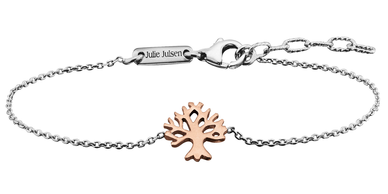 bei Uhrcenter: Julie Julsen JJBR9674.4 Armband Lebensbaum Rosé - Schmuck