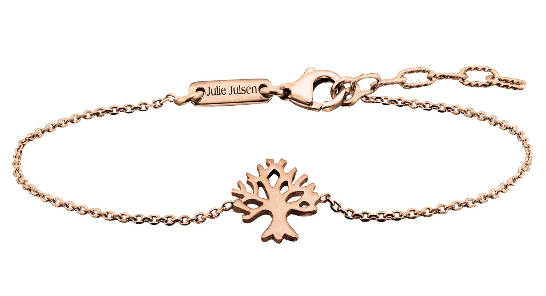 bei Uhrcenter: Julie Julsen JJBR9674.2 Damen-Armband Lebensbaum Rosé - Schmuck
