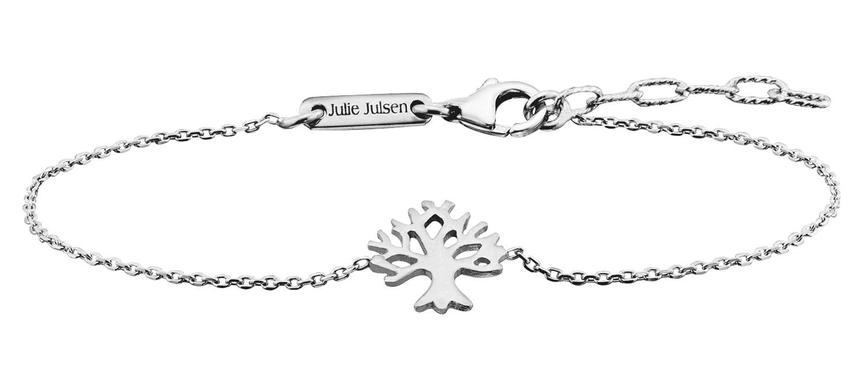 bei Uhrcenter: Julie Julsen JJBR9674.1 Silber Damenarmband Lebensbaum - Schmuck