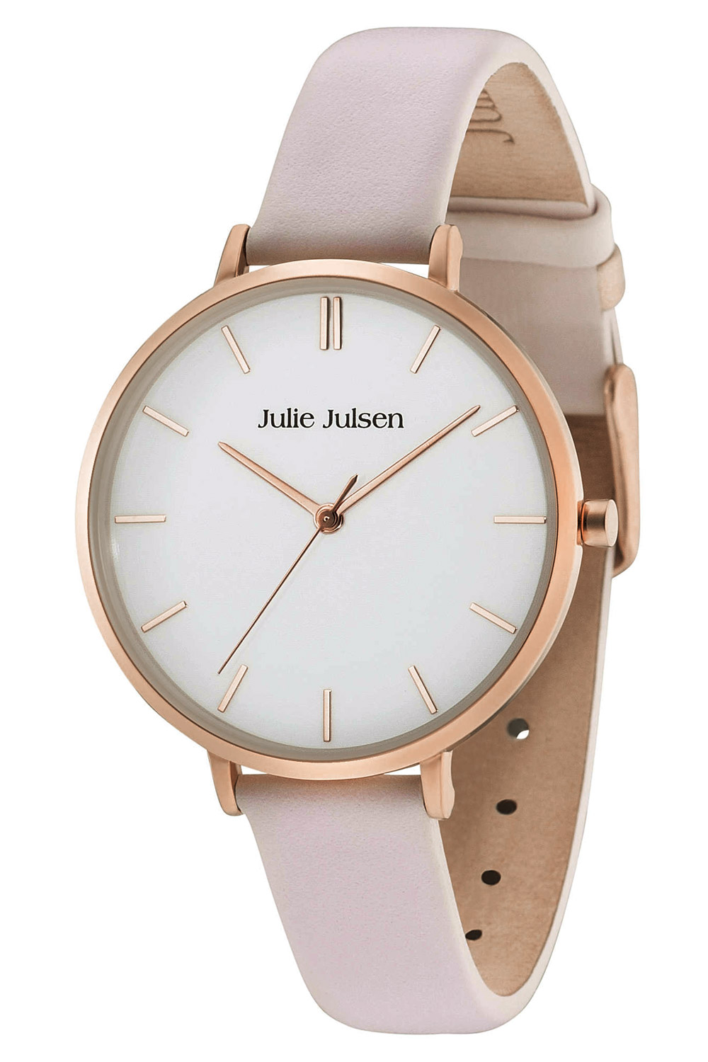 bei Uhrcenter: Julie Julsen JJW10RGL-2 Damenuhr Pure Rosé Light Pink - Damenuhr