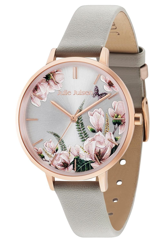 bei Uhrcenter: Julie Julsen JJW30RGL-8 Damenuhr Romance Rosé Grey - Damenuhr