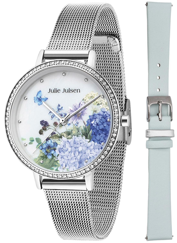bei Uhrcenter: Julie Julsen JJW71SME Damenuhr-Set The Secret Garden - Damenuhr