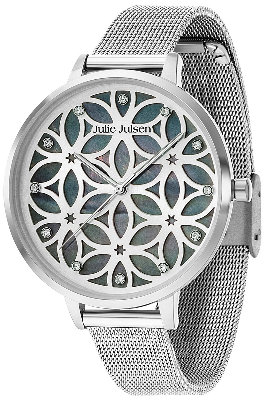 Julie Julsen JJW104SME Damenuhr mit 3-D-Zifferblatt