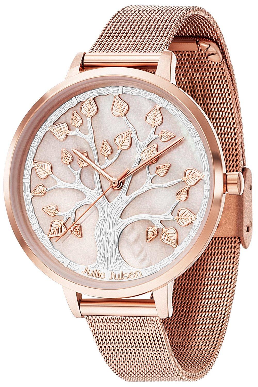 bei Uhrcenter: Julie Julsen JJW105RGME Damenuhr mit 3-D-Zifferblatt - Damenuhr