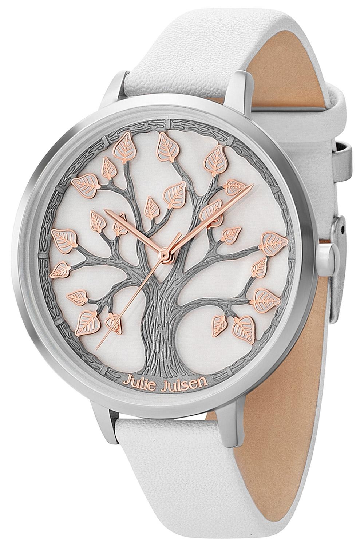 bei Uhrcenter: Julie Julsen JJW105SL-9 Damenuhr mit 3-D-Zifferblatt - Damenuhr