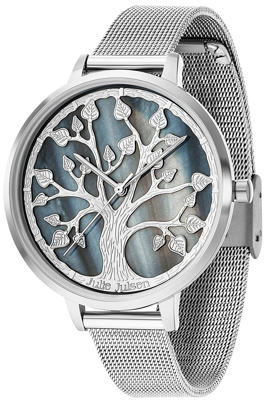 bei Uhrcenter: Julie Julsen JJW105SME Damenuhr mit 3-D-Zifferblatt - Damenuhr