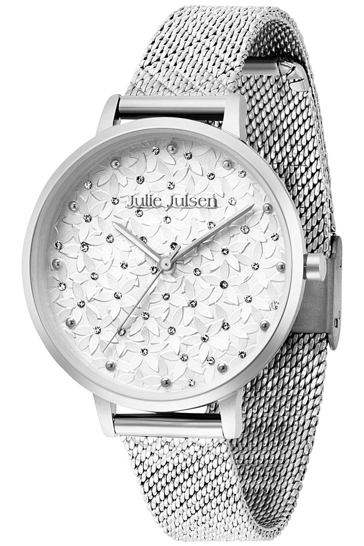 bei Uhrcenter: Julie Julsen JJW1066SME Damenuhr Blüten Ø 36 mm - Damenuhr
